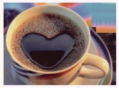 taza de cafe de amistad